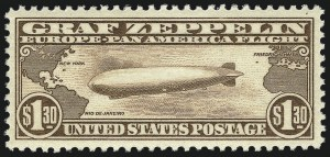 Sale Number 1013, Lot Number 490, Air Post$1.30 Graf Zeppelin (C14), $1.30 Graf Zeppelin (C14)