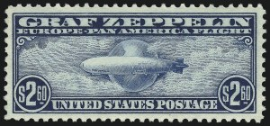 Sale Number 1013, Lot Number 491, Air Post$2.60 Graf Zeppelin (C15), $2.60 Graf Zeppelin (C15)