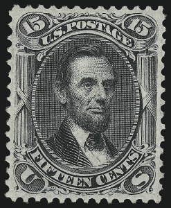 Sale Number 1014, Lot Number 1252, 1867-68 Grilled Issue (Scott 92-101)15c Black, F. Grill (98), 15c Black, F. Grill (98)