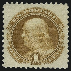 Sale Number 1014, Lot Number 1288, 1c-15c 1869 Pictorial Issue (Scott 112-119)1c Buff (112), 1c Buff (112)