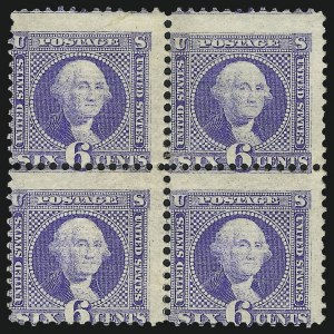 Sale Number 1014, Lot Number 1296, 1c-15c 1869 Pictorial Issue (Scott 112-119)6c Ultramarine (115), 6c Ultramarine (115)