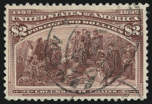 Sale Number 1014, Lot Number 1545, $1.00-$3.00 1893 Columbian Issue (Scott 241-243)$2.00 Columbian (242), $2.00 Columbian (242)