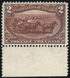 Sale Number 1014, Lot Number 1628, 1c-50c 1898 Trans-Mississippi Issue (Scott 285-291)2c Trans-Mississippi (286), 2c Trans-Mississippi (286)