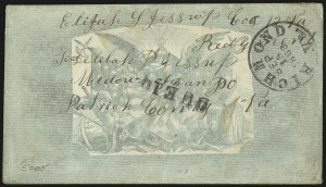 Sale Number 1016, Lot Number 584, Confederate States: Handstamped Paid and Due: Texas thru West VirginiaRichmond Va. Sep. 15, 1862, Richmond Va. Sep. 15, 1862