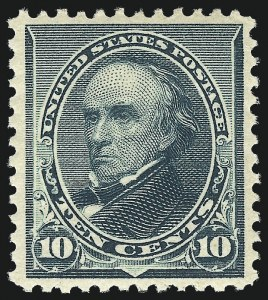 Sale Number 1017, Lot Number 605, 1890-93 Issue (Scott 219-229)10c Green (226), 10c Green (226)