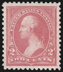 Sale Number 1017, Lot Number 642, 1894 Unwatermarked Bureau Issue (Scott 248-263)2c Pink, Ty. I (248), 2c Pink, Ty. I (248)