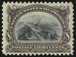 Sale Number 1017, Lot Number 738, 1901 Pan-American Issue (Scott 294-299)1c-10c Pan-American (294-299), 1c-10c Pan-American (294-299)
