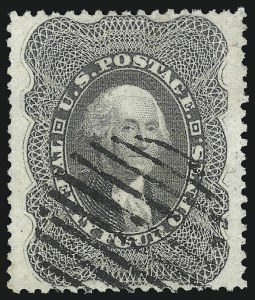 Sale Number 1019, Lot Number 383, 10c-90c 1857-60 Issue and 1875 Reprint (Scott 32-47)24c Gray Lilac (37), 24c Gray Lilac (37)