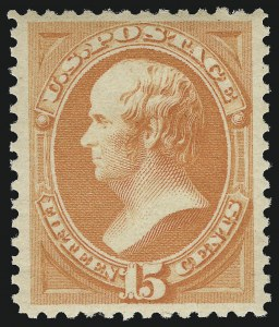 Sale Number 1019, Lot Number 518, 1870-88 Bank Note Issues (Scott 134-190)15c Red Orange (189), 15c Red Orange (189)