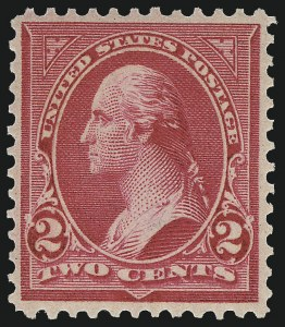 Sale Number 1019, Lot Number 610, 1895-97 Watermarked Bureau Issues (Scott 266-283)2c Rose Carmine, Ty. IV (279Bc), 2c Rose Carmine, Ty. IV (279Bc)