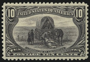 Sale Number 1019, Lot Number 635, 1c-50c 1898 Trans-Mississippi Issue (Scott 285-291)10c Trans-Mississippi (290), 10c Trans-Mississippi (290)