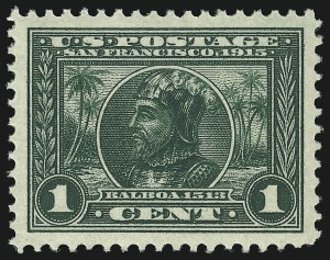 Sale Number 1019, Lot Number 774, 1913 Panama Pacific Issue (Scott 397-404)1c Panama-Pacific (397), 1c Panama-Pacific (397)