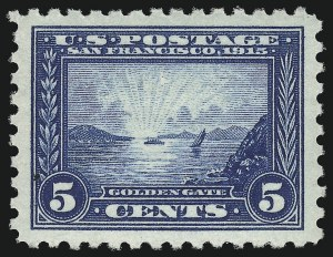 Sale Number 1019, Lot Number 789, 1913 Panama Pacific Issue (Scott 397-404)5c Panama-Pacific, Perf 10 (403), 5c Panama-Pacific, Perf 10 (403)