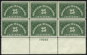 Sale Number 1019, Lot Number 986, Newspapers & Periodicals, Parcel Post25c Special Handling (QE4), 25c Special Handling (QE4)