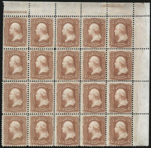 Sale Number 1021, Lot Number 255, 1867-68 Grilled Issue - F Grill (Scott 92-101)3c Red, F. Grill (94), 3c Red, F. Grill (94)