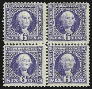 Sale Number 1021, Lot Number 307, 1c-12c 1869 Pictorial Issue (Scott 112-117)6c Ultramarine (115), 6c Ultramarine (115)