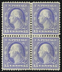 Sale Number 1021, Lot Number 485, 1908-09 Washington-Franklin Issue (Scott 331-356)1c-15c 1908-09 Issue (331-340), 1c-15c 1908-09 Issue (331-340)