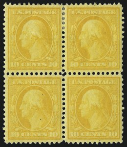 Sale Number 1021, Lot Number 486, 1908-09 Washington-Franklin Issue (Scott 331-356)1c-15c 1908-09 Issue (331-340), 1c-15c 1908-09 Issue (331-340)