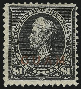Sale Number 1021, Lot Number 547, United States PossessionsGUAM, 1899, $1.00 Black, Ty. II (13), GUAM, 1899, $1.00 Black, Ty. II (13)