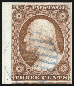 Sale Number 1024, Lot Number 31, 3c 1851-56 Issue (Scott 10-11A)3c Orange Brown, Ty. I (10), 3c Orange Brown, Ty. I (10)