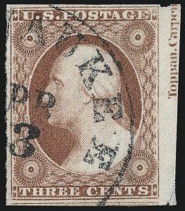 Sale Number 1024, Lot Number 37, 3c 1851-56 Issue (Scott 10-11A)3c Dull Red, Ty. I (11), 3c Dull Red, Ty. I (11)