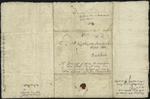 Sale Number 1025, Lot Number 1, Colonial Period and Western ExpressBoston to Barbados, 1651, Boston to Barbados, 1651