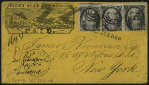 Sale Number 1025, Lot Number 114, 1861-66 Issue cont. thru Re-Issue2c Black (73), 2c Black (73)