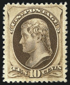 Sale Number 1025, Lot Number 173, 1870-88 Bank Note Issues, including Scott 20410c Brown, Without Secret Mark, Double Paper (187a), 10c Brown, Without Secret Mark, Double Paper (187a)
