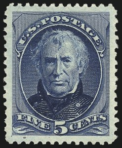 Sale Number 1025, Lot Number 175, 1870-88 Bank Note Issues, including Scott 2045c Deep Blue, Special Printing (204), 5c Deep Blue, Special Printing (204)