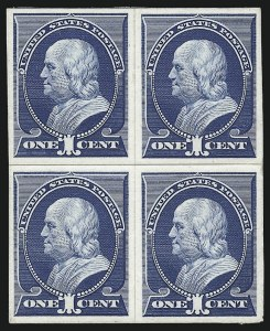Sale Number 1025, Lot Number 176, 1870-88 Bank Note Issues, including Scott 2041c Ultramarine, Plate Proof on Card (212P4), 1c Ultramarine, Plate Proof on Card (212P4)