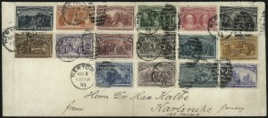 Sale Number 1025, Lot Number 177, Columbian Issue1c-$5.00 Columbian (230-245), 1c-$5.00 Columbian (230-245)