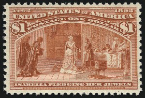 Sale Number 1025, Lot Number 181, Columbian Issue$1.00 Columbian (241), $1.00 Columbian (241)