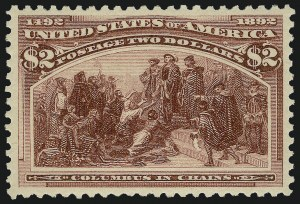 Sale Number 1025, Lot Number 182, Columbian Issue$2.00 Columbian (242), $2.00 Columbian (242)