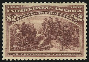 Sale Number 1025, Lot Number 183, Columbian Issue$2.00 Columbian (242), $2.00 Columbian (242)
