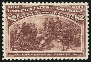 Sale Number 1025, Lot Number 184, Columbian Issue$2.00 Columbian (242), $2.00 Columbian (242)