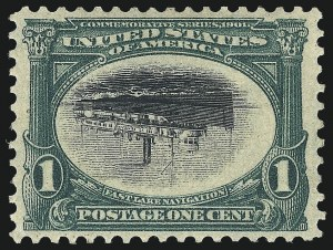 Sale Number 1025, Lot Number 207, Pan-American Issue and Inverts1c Pan-American, Center Inverted (294a), 1c Pan-American, Center Inverted (294a)