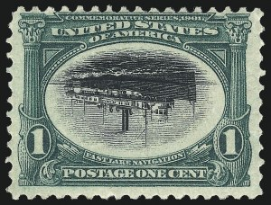 Sale Number 1025, Lot Number 208, Pan-American Issue and Inverts1c Pan-American, Center Inverted (294a), 1c Pan-American, Center Inverted (294a)