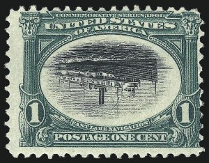 Sale Number 1025, Lot Number 209, Pan-American Issue and Inverts1c Pan-American, Center Inverted (294a), 1c Pan-American, Center Inverted (294a)