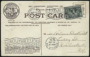 Sale Number 1025, Lot Number 214, 1902-08 Issue thru Bluish Paper1c Jamestown (328), 1c Jamestown (328)