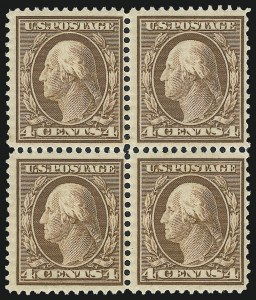 Sale Number 1025, Lot Number 215, 1902-08 Issue thru Bluish Paper4c Orange Brown, Bluish (360), 4c Orange Brown, Bluish (360)