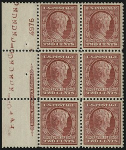 Sale Number 1025, Lot Number 218, 1902-08 Issue thru Bluish Paper2c Lincoln, Bluish (369), 2c Lincoln, Bluish (369)