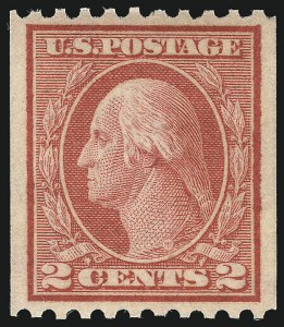 Sale Number 1025, Lot Number 224, Washington-Franklin and Panama Pacific Issues2c Red, Ty. I, Coil (449), 2c Red, Ty. I, Coil (449)