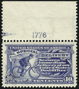 Sale Number 1025, Lot Number 248, Air Post thru Parcel Post10c Ultramarine, Special Delivery (E6), 10c Ultramarine, Special Delivery (E6)