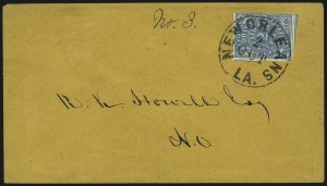 Sale Number 1025, Lot Number 302, Confederate StatesNew Orleans La., 2c Blue (62X1), New Orleans La., 2c Blue (62X1)
