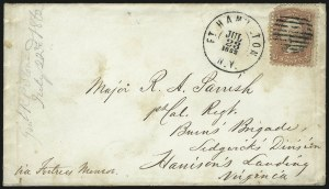 Sale Number 1025, Lot Number 309, Confederate StatesFort Hamilton N.Y, Fort Hamilton N.Y