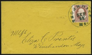 Sale Number 1025, Lot Number 81, 1851-56 Issue3c Dull Red, Ty. II (11A), 3c Dull Red, Ty. II (11A)