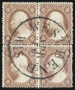 Sale Number 1025, Lot Number 90, 1857-60 Issue and Reprints3c Dull Red, Ty. IV (26A), 3c Dull Red, Ty. IV (26A)