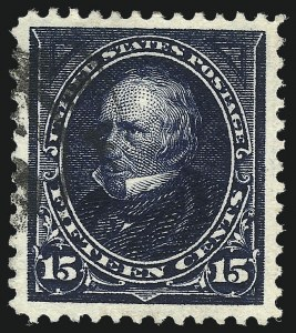 Sale Number 1026, Lot Number 1339, 1894-95 Bureau Issues (Scott 250-284)15c Dark Blue (274), 15c Dark Blue (274)