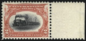 Sale Number 1026, Lot Number 1358, Trans-Mississippi and Pan-American Issues (Scott 285-299)2c Pan-American (295), 2c Pan-American (295)