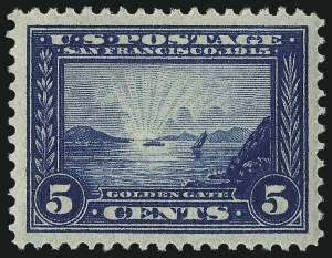 Sale Number 1026, Lot Number 1405, 1908-12 Issues, 1908 Commemoratives, Pan-Pacific (Scott 335-404)5c Panama-Pacific (399), 5c Panama-Pacific (399)